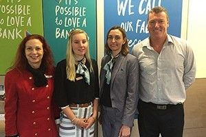 Caralee thrives in customer service role with Bank of Queensland