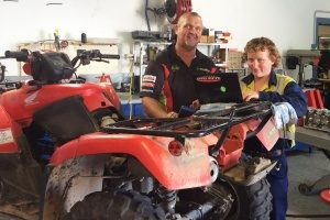 Local business owner upskills to support his apprentice and grow his business