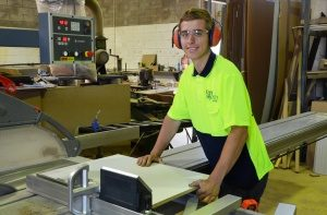 Daniel takes out TAFE's First Year Construction Apprentice of the Year Award