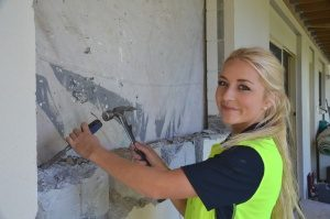 Hannah sets her sights on building career