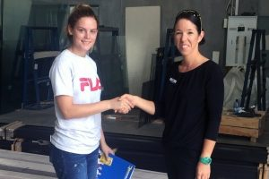 Emily breaks new ground with glass and glazing apprenticeship