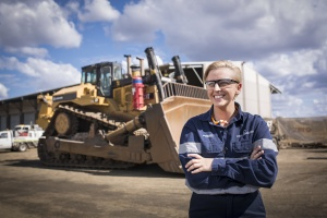 Gemma excels in diesel fitting apprenticeship with support from BUSY