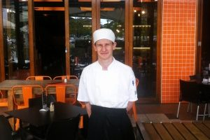 Ryan finds his groove in commercial cookery