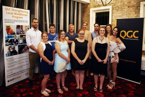 QGC and BUSY At Work Celebrate Graduates