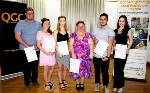 QGC and BUSY At Work Celebrate Graduates at Gladstone