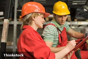 Explaining the importance of safety to young workers