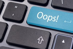 How to avoid making mistakes at your job