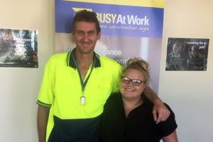 BUSY helps Shane connect with a full time job