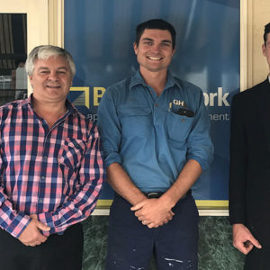 Lachlan's ready for a big future in the building industry