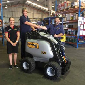 Ellie breaks new ground as a mechanical fitter at Dingo Australia