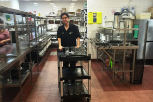 BUSY helps Juan reconnect with the labour market and a career in hospitality
