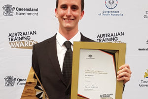 Ben's takes gold in WorldSkills Competition and Australian Training Awards