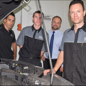 BUSY At Work backs Sunshine Automotive with employment of Motor Trade Apprentices