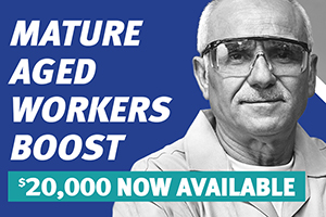 Back to Work Mature Aged Worker Boost Payments