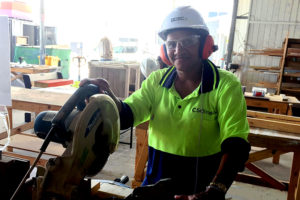 Josephine Sets Her Sights on a Career in the Building Industry