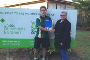 Ryan ready to take his horticultural career to the next step