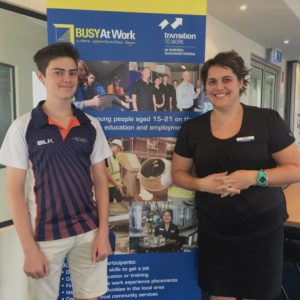 Regan lands his first job with support from BUSY At Work