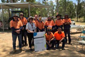 Successful Skilling Queenslanders for Work Course at Kilcoy Motocross