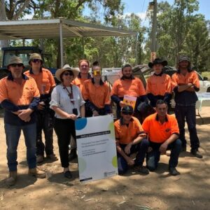 Successful Skilling Queenslanders for Work Course at Kilcoy Motocross