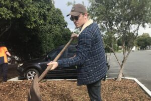 Conner gains skills and a new career pathway in Horticulture