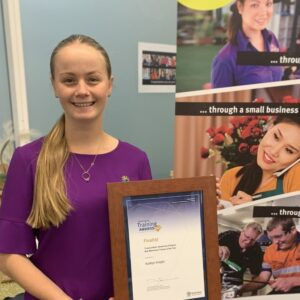 Recent QTA Awards Finalist is Thriving in her New Career